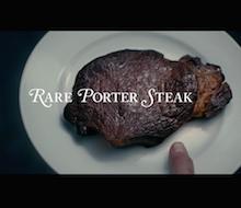 Rare Porter Steak